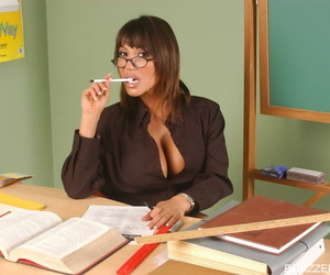 Asian teacher Ava Devine seduces a student thats been..