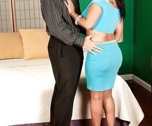 Mature latina fatty with big tits Daylene Rio fucking with..