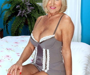 Hot older lady lives out her dream of being ass banged by..
