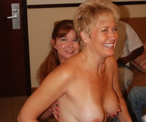 Horny mature Dee Delmar loves a gangbang and eagerly..