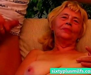 Granny enjoys her young fuck friend - 5 min