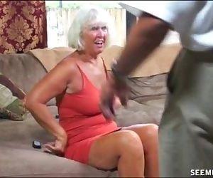 Granny Blowjob - 4 min