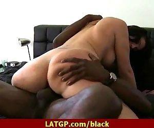 Black cock fucks Milf 21