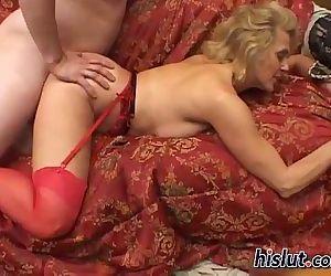 Dana a cock sucking MILF