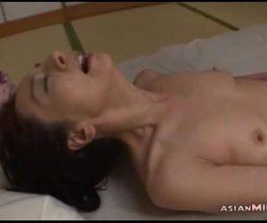 Mature Woman In Pantyhose Masturbating Fingering Herself..