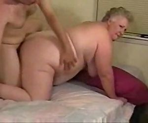 Horny granny paid to fuck with younger - 1 min 6 sec
