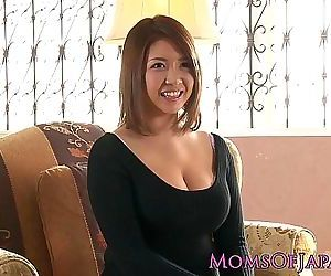 Mature japanese mommy toyed and throatfucked 8 min HD