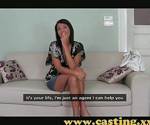 Casting - Brunette milf with a body to die for - 9 min