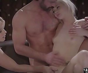 Foster parents molested tee Elsa Jean 6 min HD