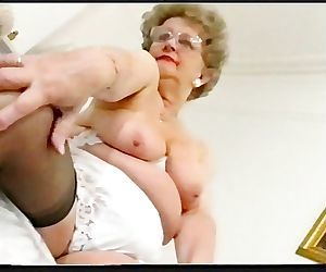 Playing With A Chubby Old Sex Kitten