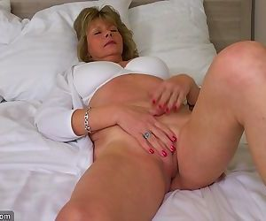 Hot assed late 50s gilf teaching young girl