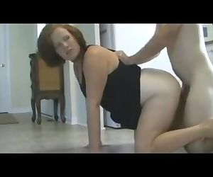 Son gets in trouble and has to creampie mom as punishment