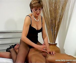 The Lady Milks The Slave