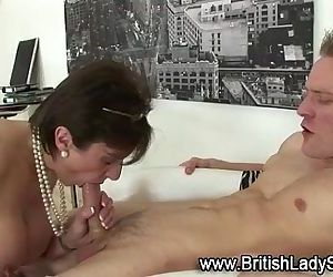 Sexy mature Lady Sonia gets fucked - 5 min