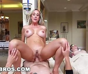 Brandi Love Gives Massage To Teen Before Giving Him A Good..
