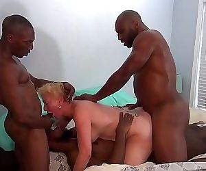 Seka Goes AIRTIGHT With Her Mandingo Bull And Friends 16..