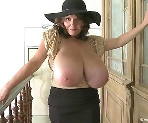Milena huge boobs