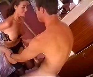 Busty horny wife teases and gets fucked - 7 min