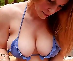 Your Friends Hot Mom Cant Stop Sucking Your Balls 27 min HD