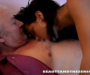 Bruce a dirty old man loves to fuck young girls like PetraHD