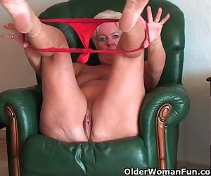 Chubby Granny With Saggy Big Tits And Plump Ass Spreads..