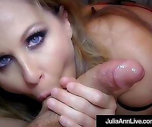 Get Your Cock Sucked By Milf Julia Ann In This POV..