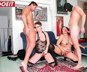 LETSDOEITMature Italian Swingers Share Their Wives 11 min..