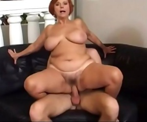 Hot mature Jozsefne with big boobs knows how to fuck hard..