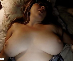 Sleeping Bootys Big Tits: Waking up Wifey for a Midnight..