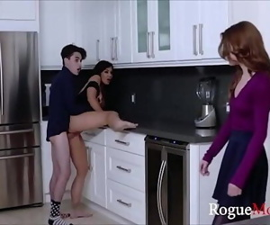 Mom teaches my GF how to fuck me WTF 8 min 720p