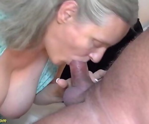Very first time rough sex for 92 years old granny 12 min..