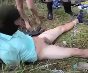 Females dominate man and make him cum 3 min