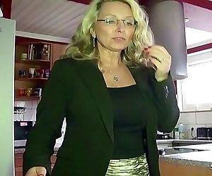 ROUGH ANAL SEX FOR GERMAN MATURE TEACHER AT PRIVAT..
