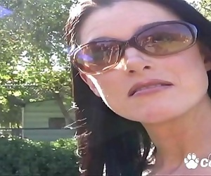MILF India Summer Talked Into Fucking A Guy She Just Met..