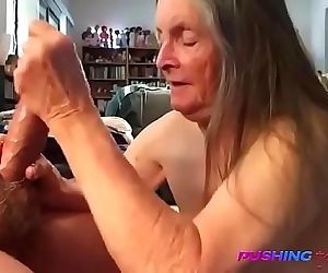 REAL Granny Blows Grandson-OMFG 4 min