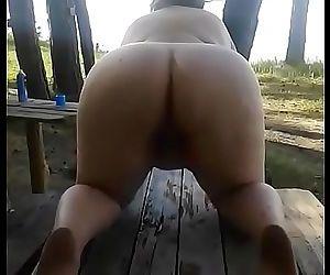 Bbw fat russian mom pissing 25 sec