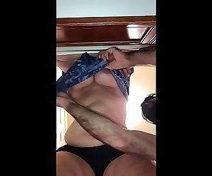 Nasty BBW Mom takes a Thick Dick Doggystyle with Big Fat..