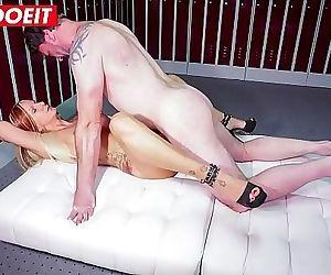 LETSDOEITHorny German Hot Wife Fucked Hard In The Locker..