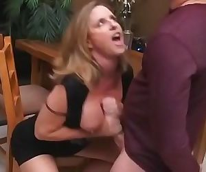Hot Milf- the shy he doesnt know how shes doing to get out..