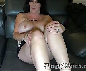 Big Tits Amazon MILF Sherri Stunns Behind the Scenes 2 min..
