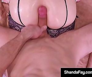 Housewife Shanda Fay Fucked In Her Tight Cougar Asshole!..