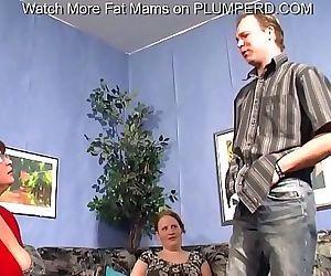 Bbw mature threesome 6 min 720p