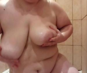 Fat milf fucks herself in the shower items