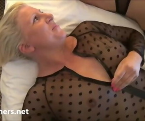 Mature lesbian voyeur girls fingering and pussy pleasuring..