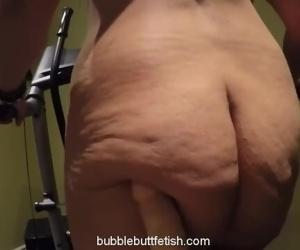 Jiggly fat ass sexy walk