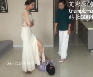 Two Asian Mistresses Beating Up Man