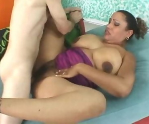 Kira Rodriguez and Dirty Harry making love