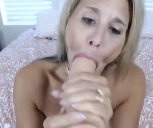 Dirty talking busty cougar Ainslee finding out ur dreams