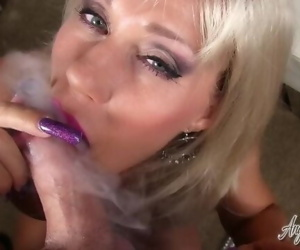 Angel Kissed Feet - MILF Gets Cum on Dirty Feet After POV..