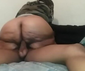 Step-Mom Mrs. Meaty Rides Sons BBC For A Creampie ***FULL***
